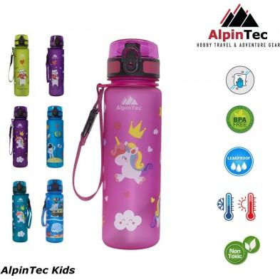 AlpinTec Kids Παγούρι 500Ml Ροζ Πόνυ C-500PK-3