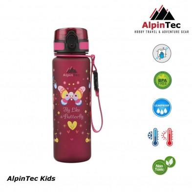 AlpinTec Kids Παγούρι 500Ml Πεταλούδα C-500RS-BU