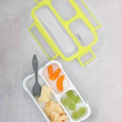 Bento Box – Δοχείο Φαγητού με Κουτάλι Aqua Blue B0123-A