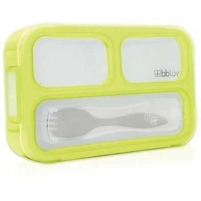 Bbluv Bento Box – Δοχείο Φαγητού με Κουτάλι Lime B0123-L