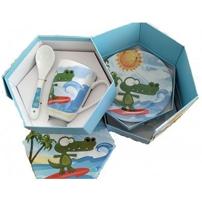 Cryspo Trio  Παιδικό Σερβίτσιο Surf σετ 5 τεμ.  Surf  28002290