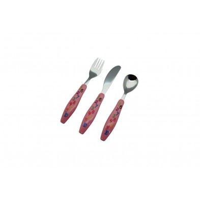 Cryspo Trio Σετ παιδικά μαχαιροπήρουνα 3 τεμαχίων BE-BE Numbers 45100202
