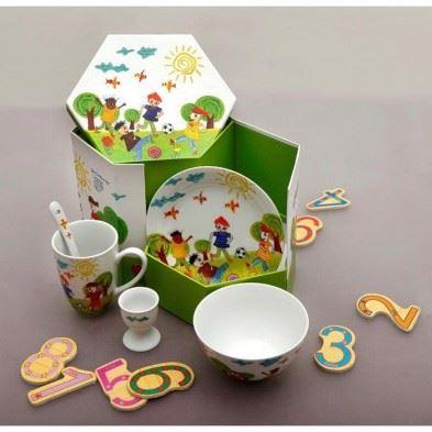 """Cryspo Trio Παιδικό Σερβίτσιο Φαγητού 5 Τεμαχίων 'Soccer"""" 28335390"""