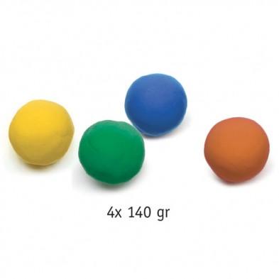 Djeco 4 Πλαστοζυμαράκια 'Πλαστελίνη - Φυσικά χρώματα' 09027