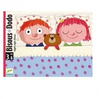 Djeco Επιτραπέζιο καρτών 'DODO' Καληνύχτα και όνειρα γλυκά 05176