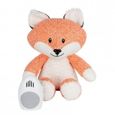 FLOW Υφασμάτινη Αλεπού Robin με λευκούς ήχους & μουσική (πορτοκαλί) FL1355027
