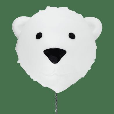 FLOW  Επιτοίχιο φωτιστικό νυχτός Αρκούδος Bjorn (λευκό) FL1145027