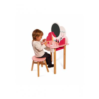 Janod Ξύλινο παιδικό τραπέζι ομορφιάς T-JND-J06553