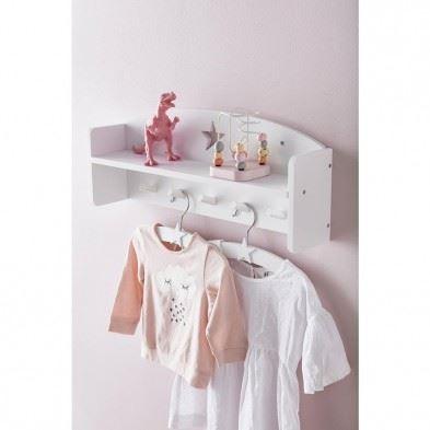 Kids Concept  Κρεμάστρα ρούχων Star (λευκό) ΚC120936