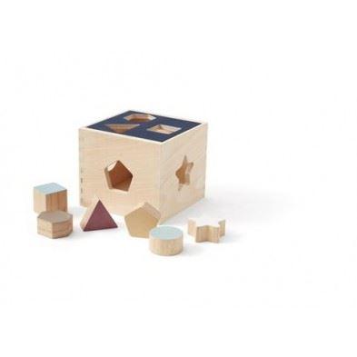 Kids Concept Ξύλινο παιχνίδι αντιστοίχισης σχημάτων NEO ΚC1000351