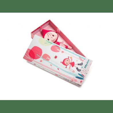 Lilliputiens Κούκλα μίνι Κοκκινοσκουφίτσα LΙ83043