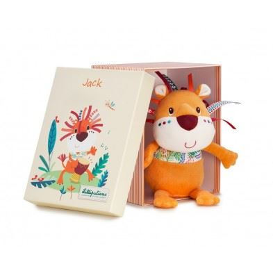 Lilliputiens Ζωάκι Τζακ σε κουτί δώρου  LΙ83085