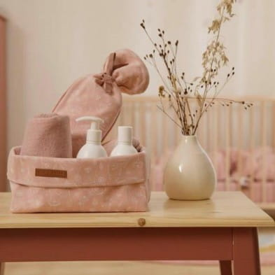 Little Dutch Καλάθι αλλαξιέρας μεγάλο Wild Flowers Pink LD30521050