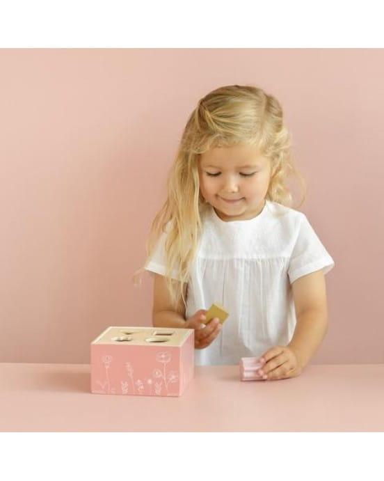 Little Dutch Ξύλινο παιχνίδι ταξινόμησης σχημάτων Flower LD7022