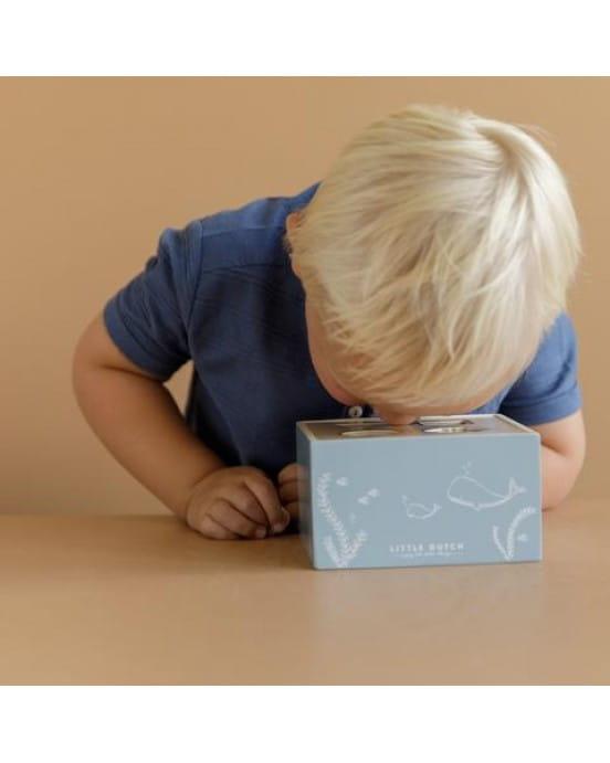 Little Dutch Ξύλινο παιχνίδι ταξινόμησης σχημάτων Ocean LD7023