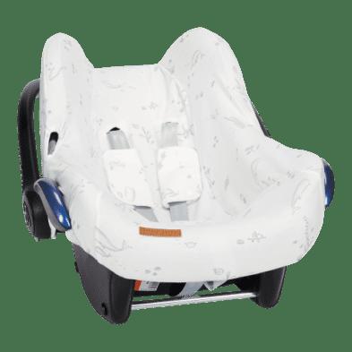 Little Dutch Κάλυμμα για κάθισμα αυτοκινήτου 0+ Ocean White LD40420690