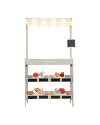 Little Dutch  Ξύλινος πάγκος αγοράς με φρούτα και λαχανικά  LD4472