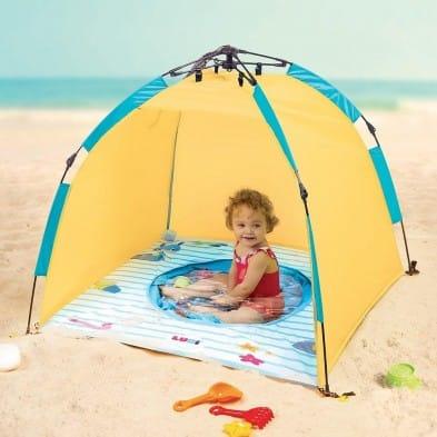 Ludi Σπαστή Τέντα Παραλίας με Πισίνα Anti-UV 50 90015