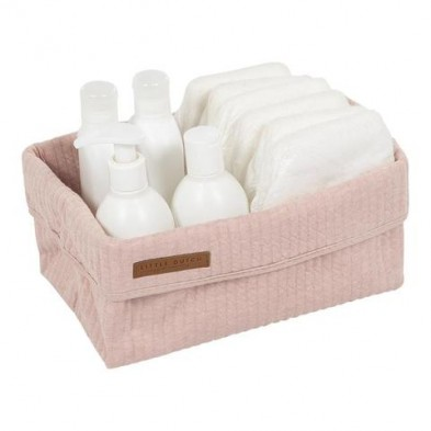 Little Dutch  Καλάθι αλλαξιέρας μεγάλο Pure Pink LD30530150
