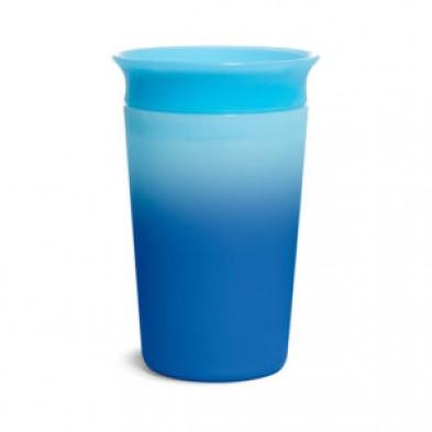 Munchkin  Εκπαιδευτικό κύπελλο  που αλλάζει χρώμα 12m+  296ml μπλε  51892-1