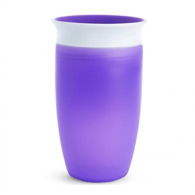 Munchkin Ποτηράκι εκπαιδευτικό  Miracle 360˚ Sippy Cup Purple 12096a