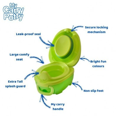 My Carry Potty – Φορητό Γιογιό  Δεινόσαυρος  My carry potty dinosaur