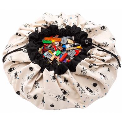 Play and Go Στρώμα παιχνιδιού - τσάντα 2 σε 1 Διάστημα φωσφορίζον ΡG300261