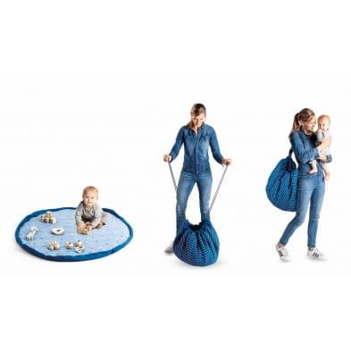 Play and Go Στρώμα παιχνιδιού μαλακό - τσάντα 2 σε 1 Αερόστατο ΡG300414