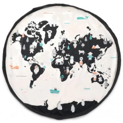 Play and Go Στρώμα παιχνιδιού - τσάντα 2 σε 1 Worldmap ΡG300216