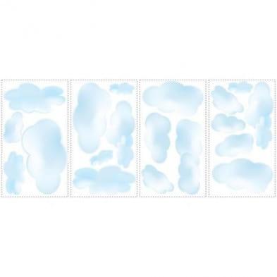 "RoomMates Αυτοκόλλητα τοίχου ""Σύννεφα"" RΜΚ1250"