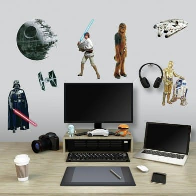 "Room Mates Αυτοκόλλητα τοίχου ""Star Wars Classic"" RΜΚ1586"