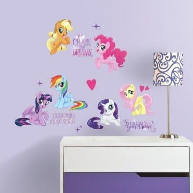 "RoomMates  Αυτοκόλλητα τοίχου ""My Little Pony Glitter"" RΜΚ3551"