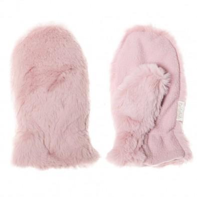 "Rockahula Γούνινα γάντια Ροζ  ""Teddy"" M1481P-1"