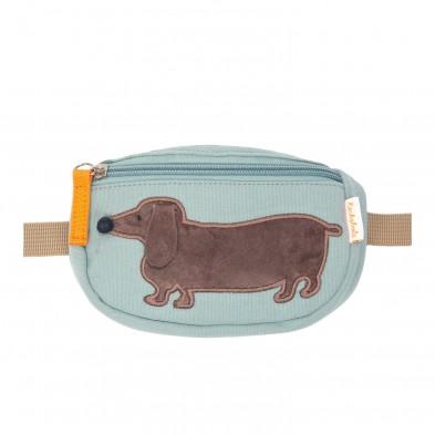 Rockahula Τσάντα μέσης Morris ο λουκάνικος σκύλος τυρκουάζ G1689B