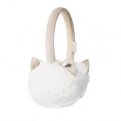 Rockahula Αυτάκια Cleo Cat Earmuffs Ivory (λευκό) T1677I