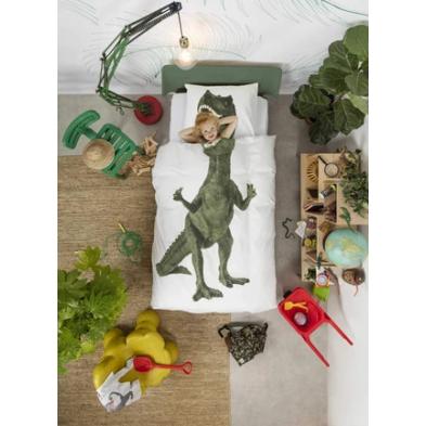 Snurk Κλινοσκέπασμα Δεινόσαυρος 140Χ200 - 50Χ70 SΝ-DΙΝΟ1402005070