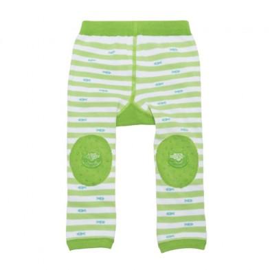 "Zoocchini  Σετ Ρούχων για Μπουσούλισμα Grip+Easy Crawler Pants & Socks Set  "" Flippy the Frog"" ZOO12502"