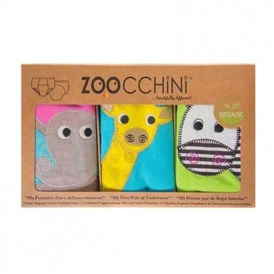Zoocchini Εκπαιδευτικά Βρακάκια – Girls Safari Friends ZOO800X