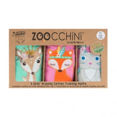 Zoocchini Εκπαιδευτικά Βρακάκια – Woodland Princesses ZOO8005
